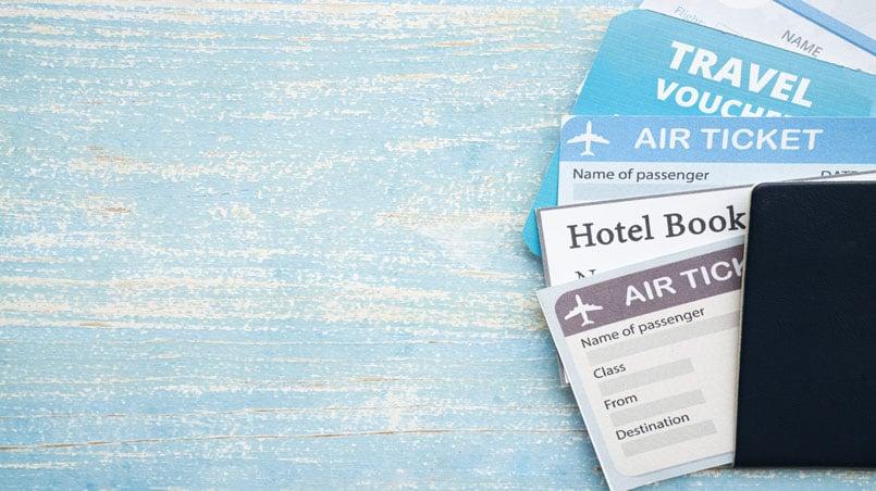passport and travel expenses
